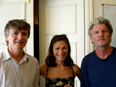 Interviews and photos with Neil Finn and Tim Finn in Auckland, New Zealand