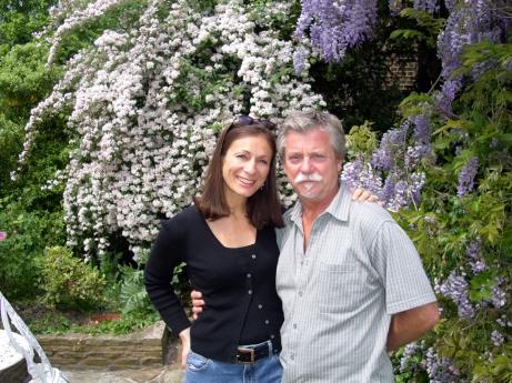 Interview day with Terry Britten in Richmond, Surrey, UK